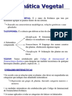 Sistemática Vegetal 1