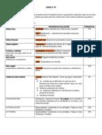 Temas y Criterios de Ev. Estudiantes.
