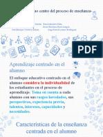 El alumno como centro del proceso de enseñanza-aprendizaje (1)