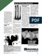 Dust/Gas/Air Filtration Equipment