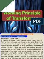 (2) WORKING PRINCIPLE OF TRANSFORMER 28.6.2020