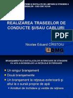 3-10 - REALIZAREA TRASEELOR DE CONDUCTE SI SAU CABLURI