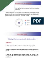 Structure de la matière - E-Cours