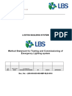 LBS-RC-EO001-MS-MEP-ELE-0015 Method Statement for Testing and Commissioning of Emergency Lighting system.doc