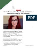 Entrevista C_Clara Grima_DraEmMATEMÁTICA