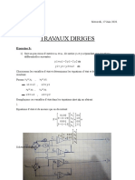 Exercice d'application automatique