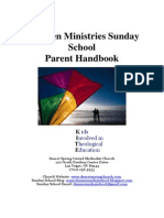 Children Ministries Parent Handbook