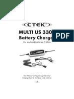 CTEK MUS3300 Manual
