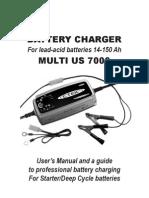 CTEK MUS7000 Manual