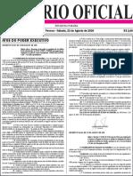 Diario Oficial 22-08-2020