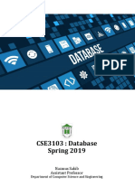 CSE3103 DATABASE FALL 2019 LEC 07 practice and Solution