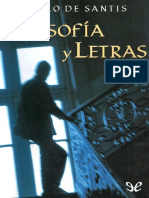 De Santis  Pablo - Filosofia Y Letras