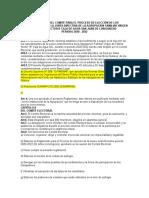 REGLAMENTO DEL COMITÉ PARA EL PROCESO DE ELECCIÓN DE LOS REPRESENTANTES DE LA JUNTA DIRECTIVA  DE LA AGRUPACION  FAMILIAR VIRGEN DE FATIMA SECTOR B