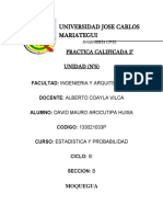 PRACTICA CALIFICADA 2°UNIDAD (DAVID MAURO AROCUTIPA HUISA)