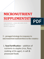 Micronutrient-Supplementation