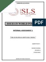 Issues in World Politics (Naman Khanna).docx