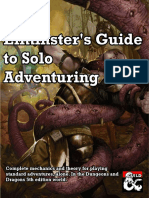 Elminsters Guide to Solo Adventuring