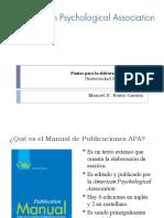 Pautas para la elaboración de escritos APA (Estudiantes)