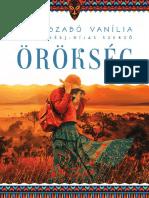 Papp-Szabó Vanília - Örökség (beleolvasó)