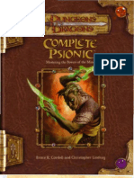 Complete Psionic