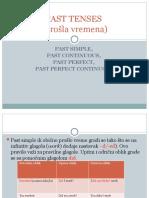 Engleski jezik 1- Past Tenses.ppt