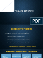 Basic of Corporate Finance