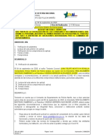Acta 148 Recomendaciones ciclos de vacaiones