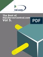 TheBestofSQLServerCentral Vol5 eBook