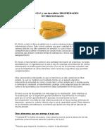El CHOCLO y sus increíbles PROPIEDADES NUTRICIONALES