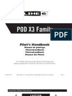 POD X3 User Manual (Rev A) - English