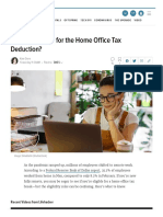 Qualify for the Home Office Tax Deduction