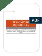 TDR REHABILITACIÓN DE LA PRESA GUIDO 2