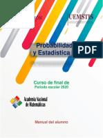 Probabilidad y Estadistica Manual  del Alumno.pdf