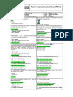 Taller Conceptos Generales Word - Grupo 4022A