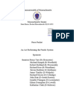 Press Packet for Parole Board Legislation Press Conference
