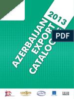 Azerbaijan Export Catalogue 2013
