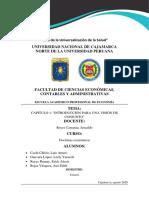 DOCTRINAS ECONOMICAS -CAPITULO 1 INTRODUCCIÓN PARA UNA VISIÓN DE CONJUNTO