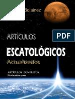 Antonio Bolainez-Artículos Escatólogicos Actualizados-septiembre 2020- Parte 1