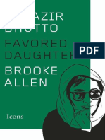 Benazir Bhutto_ Favored Daughte - Brooke Allen.epub