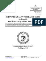 Software Quality Assurance Guide for Use with DOE O 414.1D, Quality Assurance ( PDFDrive.com )