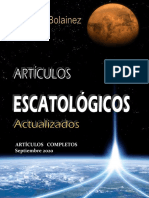 Antonio Bolainez-Artículos Escatólogicos Actualizados-septiembre 2020- Parte 3