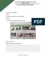 INSTITUCIÓN EDUCATIVA TÉCNICA COMERCIAL CALDAS, grado 6, guías 12, 13, 14, 15.