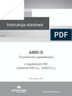 AMD-S Instrukcja startowa