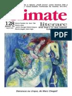 Climate Literare 128 august 2020