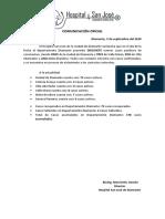 [2020 09 5] Comunicación Oficial COVID 19