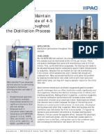 distillation optimization through atomospheric distillation
