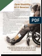 Group Long Term Disability the Respect It Deserves HIU Nov 2007