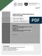 Prova A + B (Comprensione Lettura + Produzione Scritta).pdf