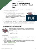 Carga de las biomoléculas_ Informe