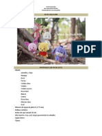 colección Winnie the pooh Orange amigurumi